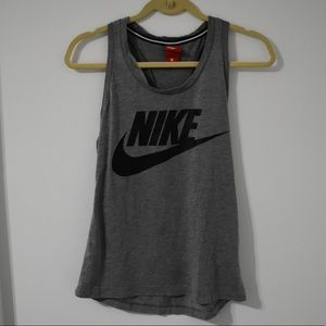 Nike Workout Grey Tank Top